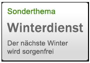sonderthema winterdienst